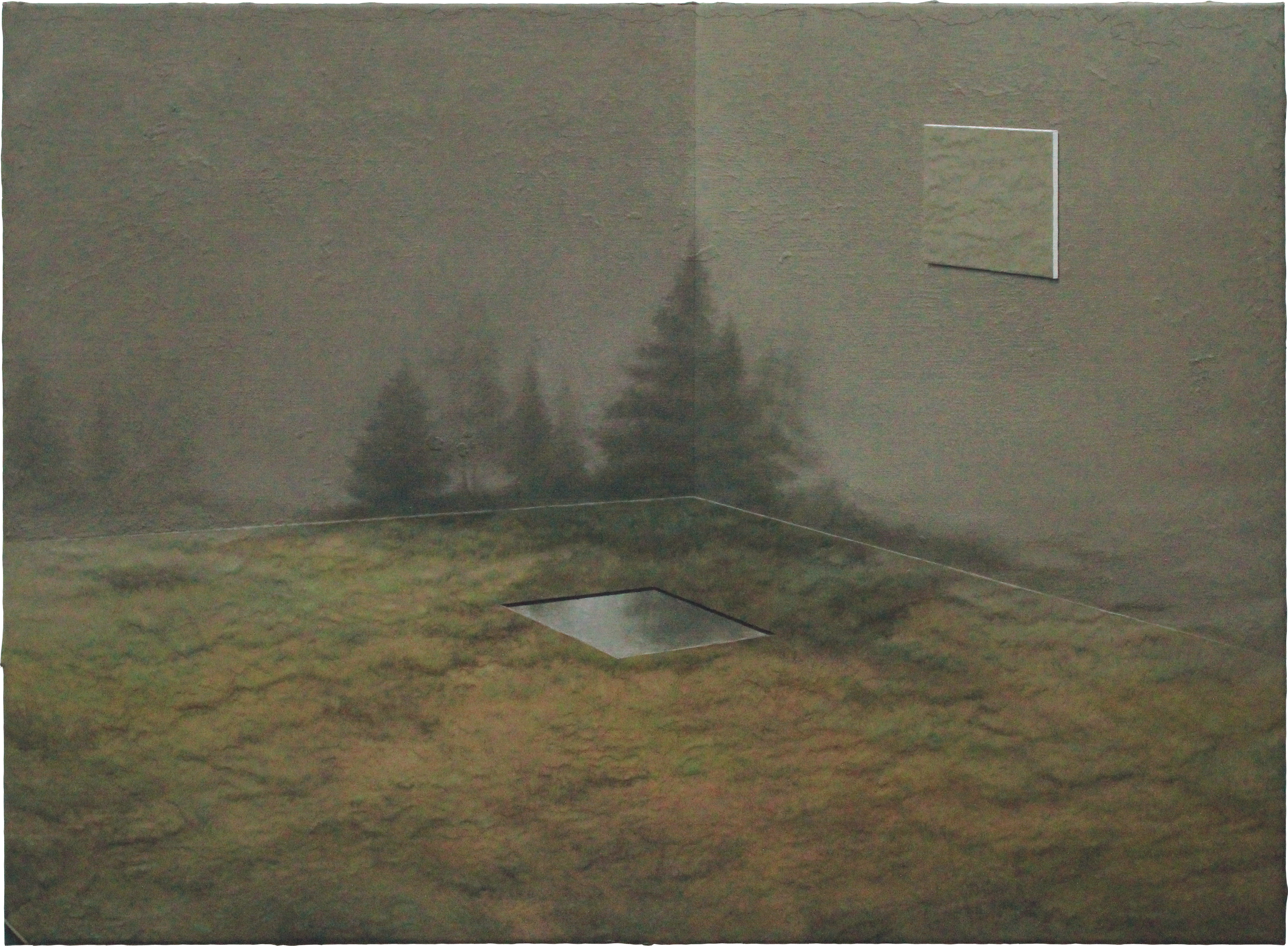 'Confined Landscape with Twofold View Point'